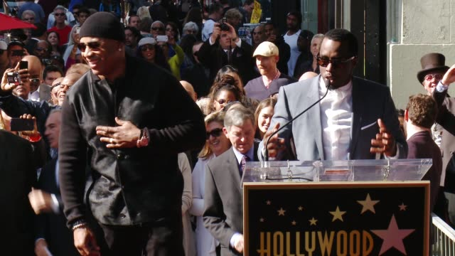 SPEECH Sean 'Diddy' Combs at Hollywood Walk Of Fame on January 21 2016 in Hollywood California