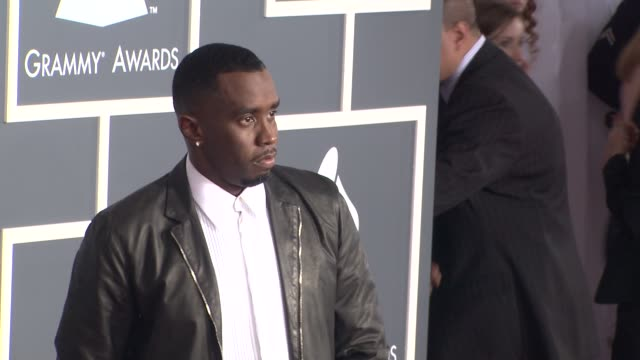 Sean 'Diddy' Combs at the 53rd GRAMMY Awards Arrivals Part 3 at Los Angeles CA