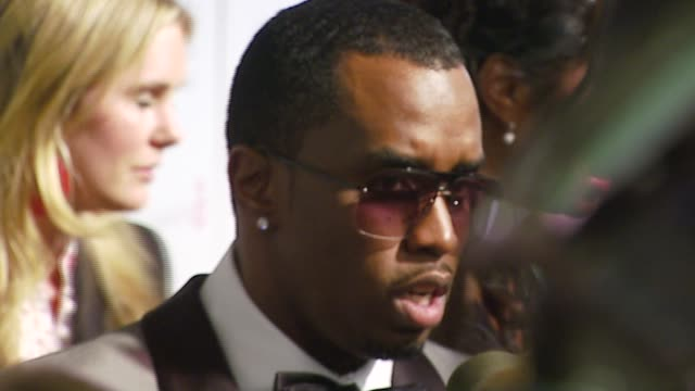 Sean 'Diddy' Combs at the Elton John 2007 Oscar Party at Pacific Design Center in West Hollywood California on February 25 2007