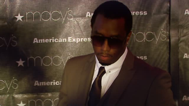 Sean 'Diddy' Combs at the Macy's Passport Gala 2006 at Santa Monica Airport's Barker Hanger in Santa Monica California on September 28 2006