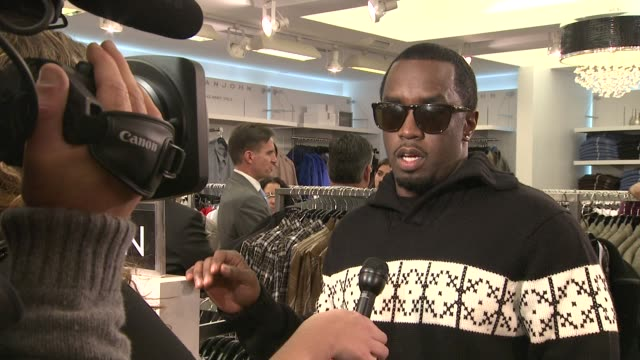 Sean 'Diddy' Combs at the Sean Combs Terry Lundgren Celebrate The Sean John Concept Store Opening At Macy's at New York NY