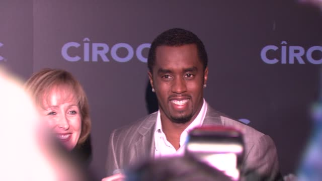 Sean 'Diddy' Combs at the Sean 'Diddy' Combs Announces New Business Venture With Ciroc Vidka at Stone Rose in New York New York on October 24 2007