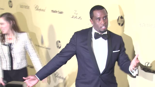 vídeos de stock e filmes b-roll de sean 'diddy' combs at the weinstein company's 2013 golden globe awards after party on 1/13/13 in beverly hills ca - sean combs