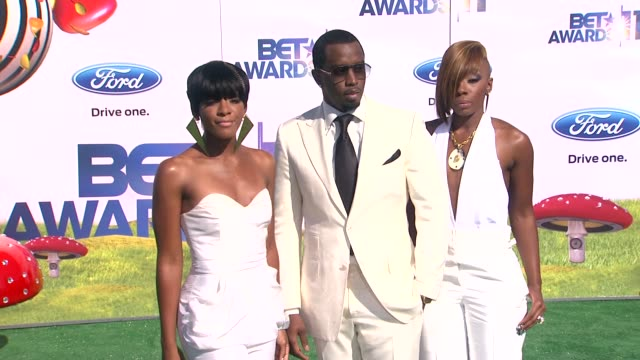 Sean 'Diddy' Combs with Dirty Money at the 2011 BET Awards at Los Angeles CA