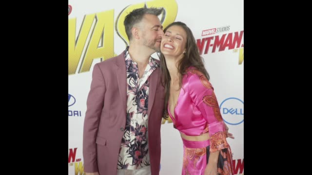 Sean Gunn at the AntMan and the Wasp World Premiere