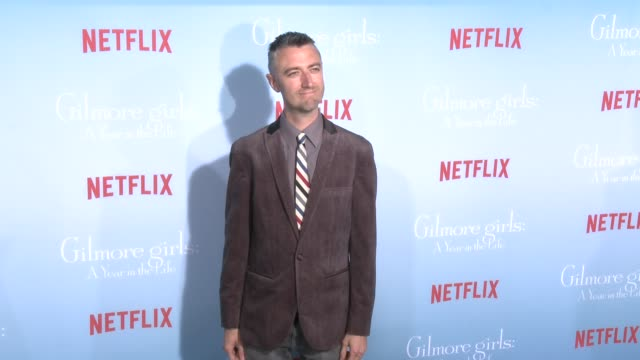 Sean Gunn at the Premiere of Netflix's Gilmore Girls A Year In The Life at Regency Bruin Theater on November 18 2016 in Westwood California