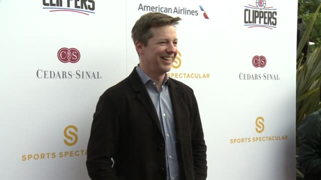 sean hayes at 32nd annual cedarssinai sports spectacular in los angeles ca - sean hayes stock videos & royalty-free footage