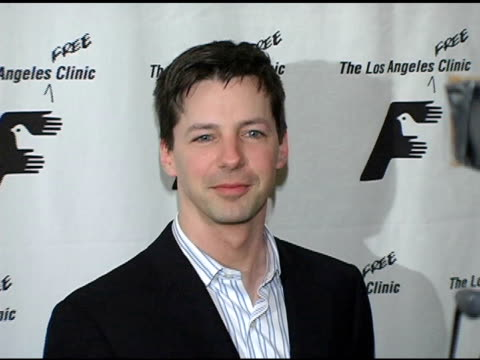 sean hayes at the friends of the los angeles free clinic's 28th annual dinner gala at the regent beverly wilshire hotel in beverly hills, california... - regent beverly wilshire hotel stock videos & royalty-free footage