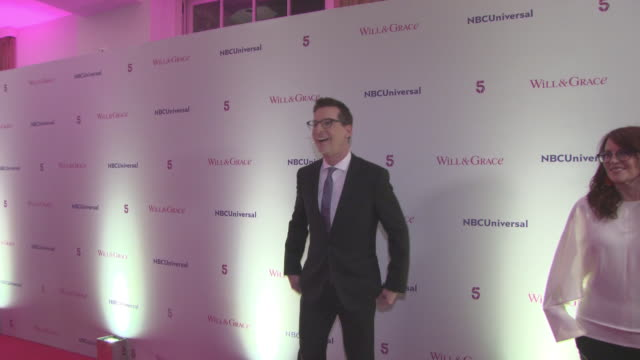 sean hayes at 'will grace' screening at bafta on february 08 2018 in london england - sean hayes stock videos & royalty-free footage