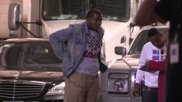 Sean Kingston arrive at Nicki Minaj's Pink Friday Concert in Los Angeles 08/08/12