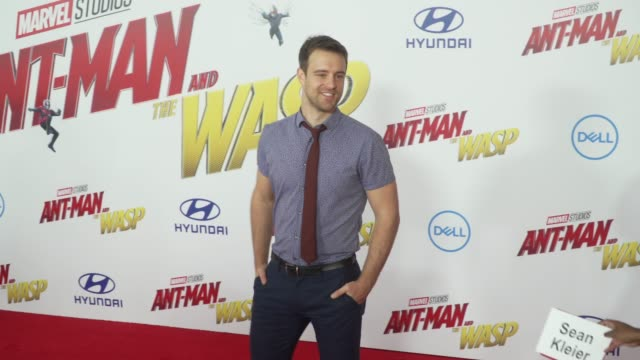 Sean Kleier at the 'AntMan and the Wasp' World Premiere at the El Capitan Theatre on June 25 2018 in Hollywood California
