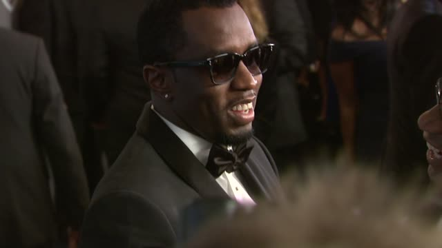 sean 'p. diddy' combs at the 13th annual warner bros. and instyle golden globe after-party at the beverly hilton hotel on 1/15/12 in los angeles, ca. - warner bros. stock videos & royalty-free footage