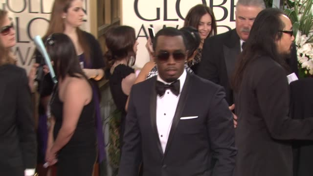 Sean 'P Diddy' Combs at the 68th Annual Golden Globe Awards Arrivals Part 2 at Beverly Hills CA