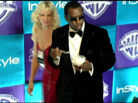 Sean 'P Diddy' Combs at the In Style Magazine and Warner Brothers Studios 6th Annual Golden Globe Party at the Beverly Hilton in Beverly Hills...