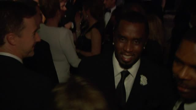 sean 'p. diddy' combs at the inside the vanity fair oscar party 2010 at west hollywood ca. - oscar party stock videos & royalty-free footage
