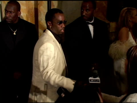 Sean 'P Diddy' Combs at the Mariah Carey Record Release Party on April 21 2005