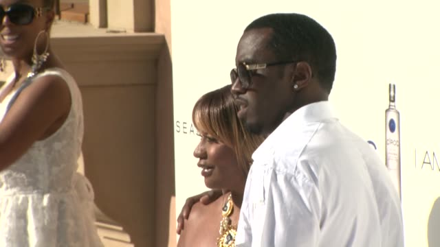 Sean 'P Diddy' Combs at the The White Party at Los Angeles CA