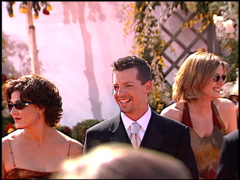 sean p hayes at the 2000 emmy awards at the shrine auditorium in los angeles, california on september 10, 2000. - shrine auditorium stock videos & royalty-free footage