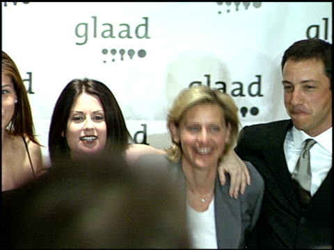sean p hayes at the glaad awards 99 at century plaza in century city california on april 17 1999 - sean hayes stock videos & royalty-free footage