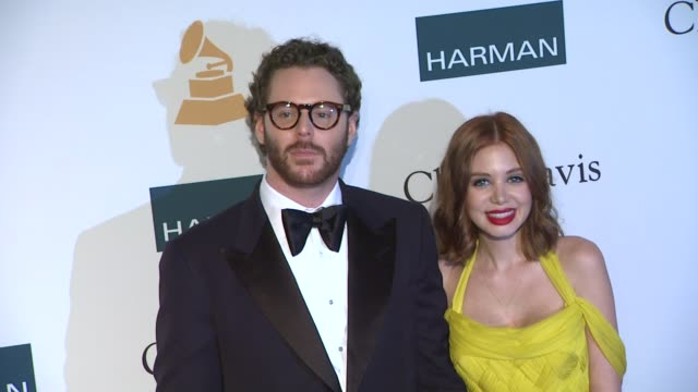 Sean Parker Alexandra Lenas at Clive Davis And The Recording Academy's 2012 PreGRAMMY Gala And Salute To Industry Icons Honoring Richard Branson on...