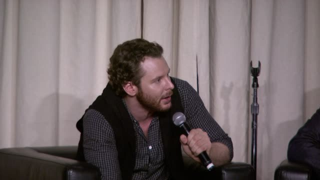 sean parker on spotify and its competition at the a celebration of music hosted by sean parker at san francisco ca. - spotify stock videos & royalty-free footage