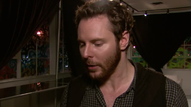 sean parker on the launch of spotify in the united states at the a celebration of music hosted by sean parker at san francisco ca - launch event stock videos & royalty-free footage