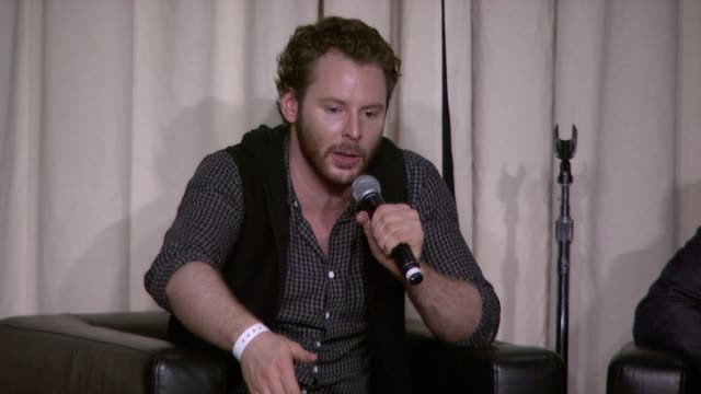 sean parker on the social aspect of spotify at the a celebration of music hosted by sean parker at san francisco ca. - spotify stock videos & royalty-free footage