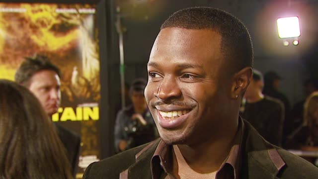 sean patrick thomas on his character on working with darren aronofsky on whether he'd want to find a fountain of youth at the warner brothers... - darren aronofsky stock videos and b-roll footage