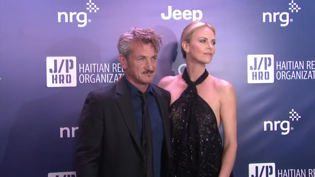 Sean Penn Charlize Theron at 4th Annual Sean Penn Friends HELP HAITI HOME Gala Benefiting J/P Haitian Relief Organization in Los Angeles CA