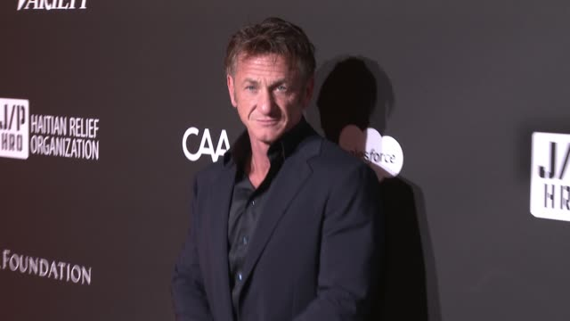 sean penn j/p hro gala: gala dinner to benefit j/p haitian relief organization and a coalition of disaster relief organizations at milk studios on... - gala stock videos & royalty-free footage