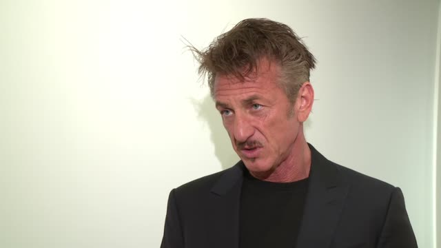 interview – sean penn on what would be the biggest successes in haiti todate the work of j/p haitian relief organization and how people can help... - サザビーズ点の映像素材/bロール