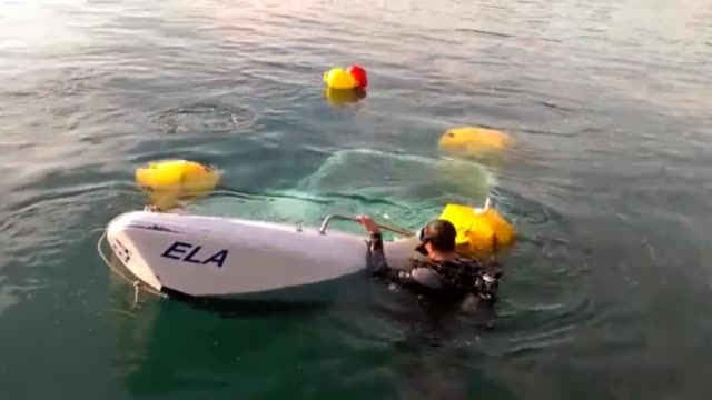search and rescue operations continue after a migrant boat carrying approximately 30 people sank off the coast of bodrum on october 22 2018 in... - mugla province stock videos & royalty-free footage