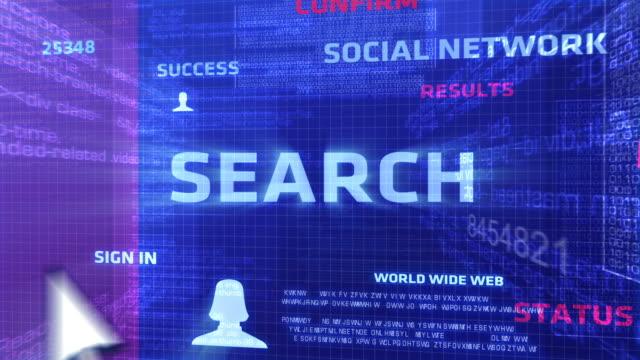 検索ボタン - キャンペーンバッジ点の映像素材/bロール