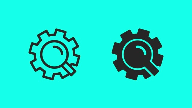 Search Engine Icons - Vector Animate