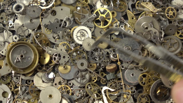 Search Engine Optimization Concept Via Clockwork Parts