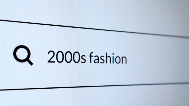 "search for ""2000s fashion"" word on the internet - 2000s style stock videos & royalty-free footage"