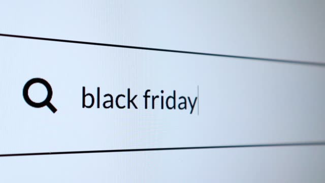 "search for ""black friday"" word on the internet - sale stock videos & royalty-free footage"