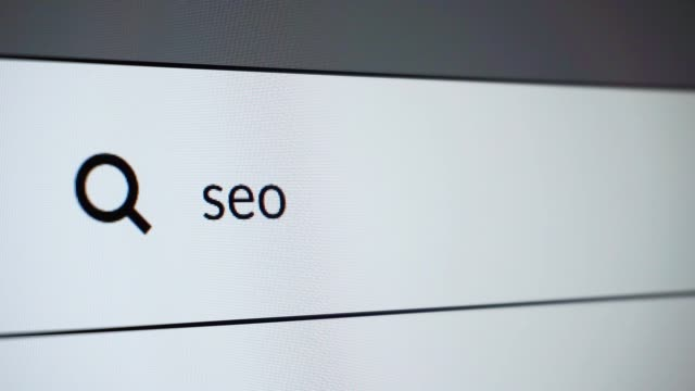 "search for ""seo"" word on the internet - search engine stock videos & royalty-free footage"
