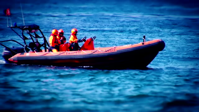 search rescue boat - rescue worker stock videos & royalty-free footage