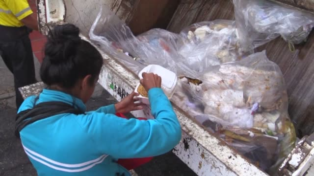 Searching for food to survive in Venezuela has become the day to day challenge for not one but thousands of Venezuelans yet even the garbage...