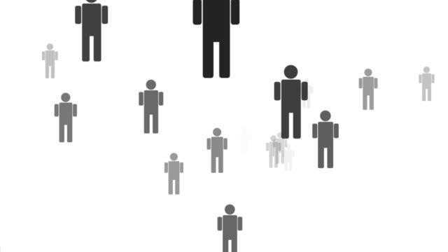 vídeos y material grabado en eventos de stock de buscando muchas personas para buscar una - contratación