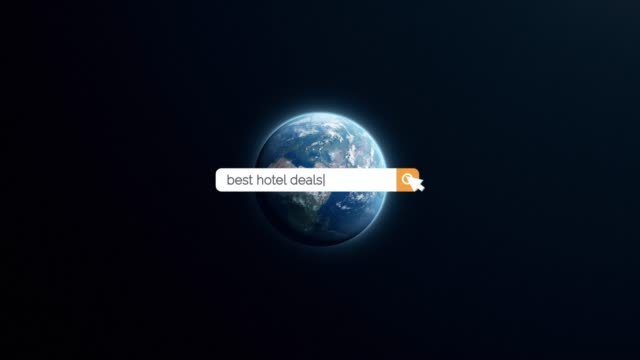 searching the question of best hotel deals on browser search box in 4k resolution - search box stock videos & royalty-free footage