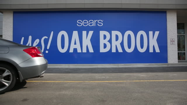 sears shopping center oak brook illinois us on saturday 14 october 2018 - dupage county stock videos & royalty-free footage