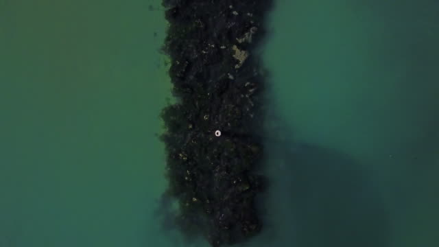 Seascape seen from above