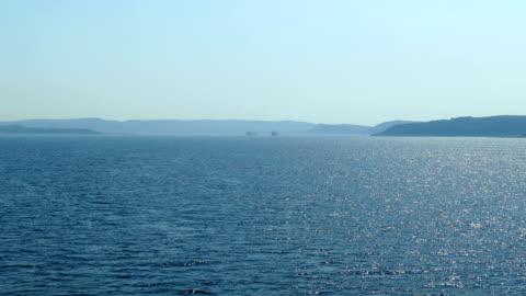 seascape -  strait of dardanelles - seascape stock videos & royalty-free footage