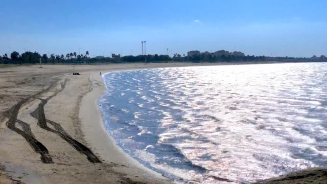 seashore - saudi arabia stock videos & royalty-free footage
