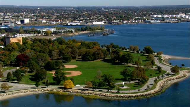 Seaside Park  - Aerial View - Connecticut,  Fairfield County,  United States