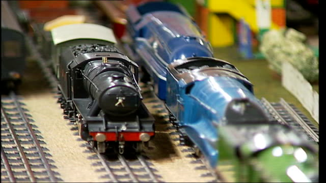 Toy Train Tracks Videos And B Roll Footage