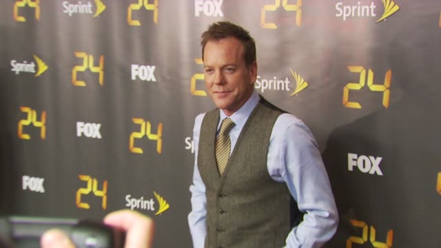 season eight of '24' new york premiere screening new york ny 1/14/10 - annie wersching stock videos and b-roll footage