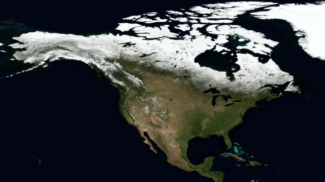 seasons of north america. full hd and loopable - sequential series stock videos & royalty-free footage